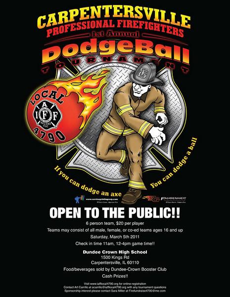 DODGEBALL TOURNAMENT!!!  Saturday March 5, 2011