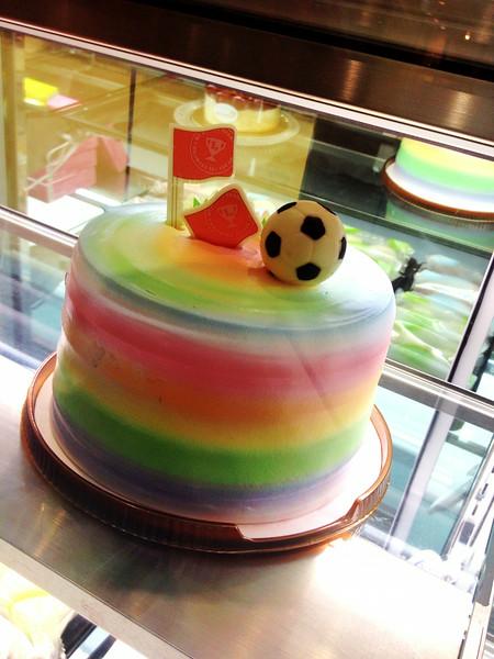 World Cake of Football