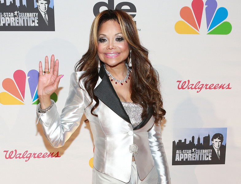 """. La Toya Jackson attends \""""All Star Celebrity Apprentice\"""" Finale at Cipriani 42nd Street on May 19, 2013 in New York City.  (Photo by Robin Marchant/Getty Images)"""