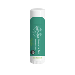 Organic Lip Balm - Mint Burst