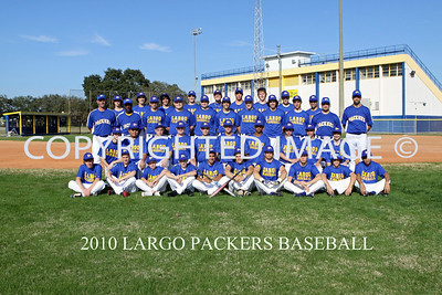 2010 LARGO BASEBALL TEAM/INDIVIDUALS