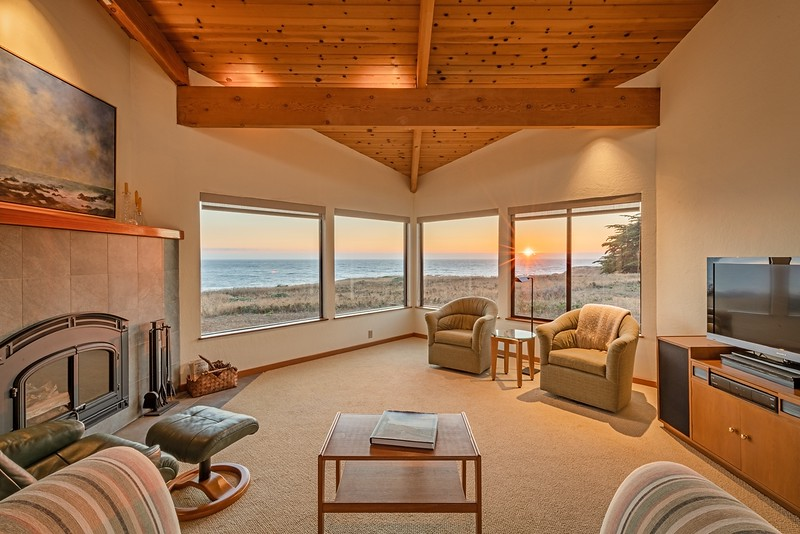 Watch Sunsets  from Living Room