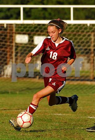 2007-09-18 Clarke HS vs North Shore Girls Soccer, 1-2