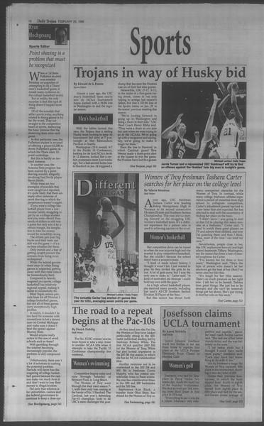 Daily Trojan, Vol. 133, No. 32, February 26, 1998