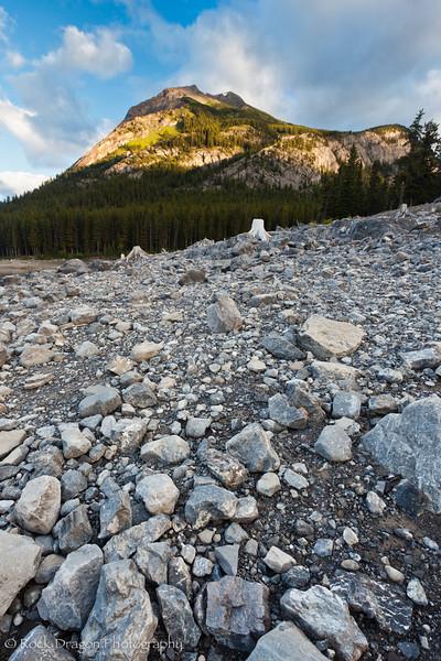 Mount Indefatigable in Peter Lougheed Provincial Park.