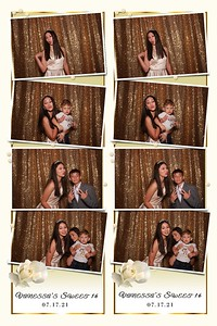 Vanessa's Sweet 16 photo strips