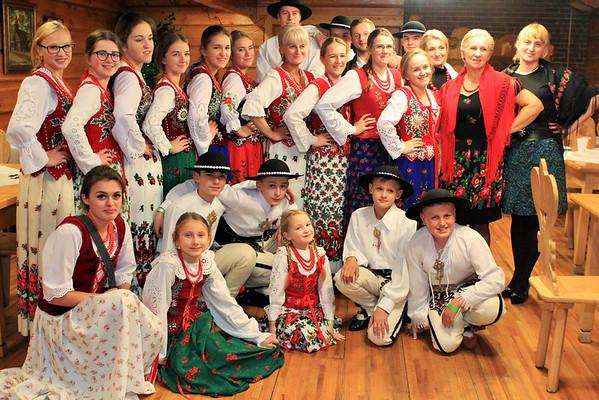 Zespół z Nowego Targu na Festiwalu