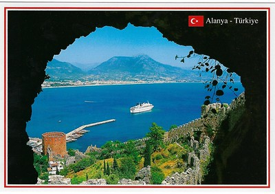 Turkey Postcards with Ships ex Kusadasi