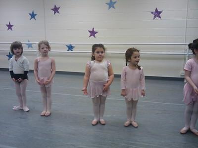 Hailey at Ballet Class 12/06/2008
