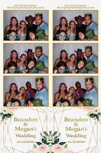 10/25/20 - Brandon & Megan's Wedding