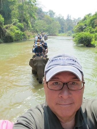 Chiang Mai, Thailand - The Chiang Dao Elephant Training Center