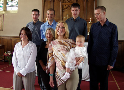 Faye Young Christening (2003)