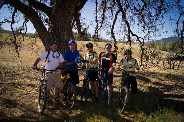 2012-03-09 - Woody Smeck Farewell Ride and CORBA Award