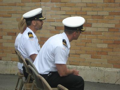 FDU(P) Change of Command 2010