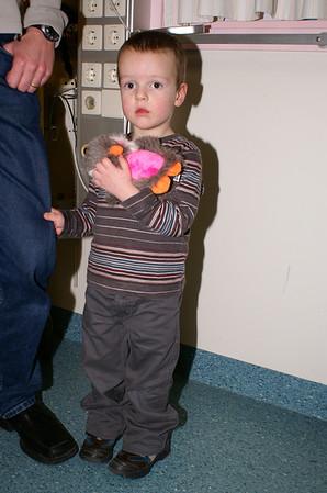 Bezoek AZM Kinderafdeling 2007