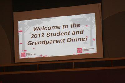 Grandparent Dinner 2012
