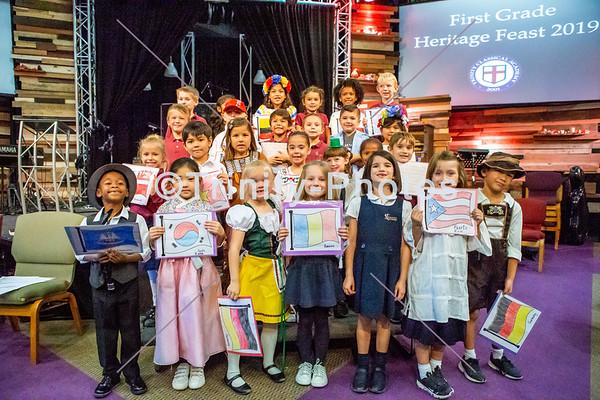 20191119 - 1st Grade Heritage Feast