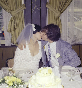 Shelly & Dave Wedding, July 1973
