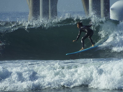10/6/19 * DAILY SURFING PHOTOS * H.B. PIER