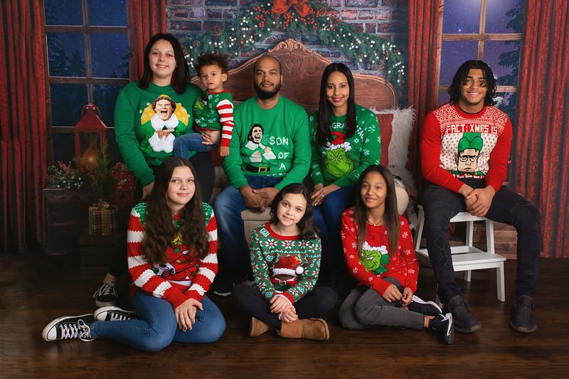 Maya, Nick, Marvin, Alexis, Samantha, Mila, Maya & Nicholas