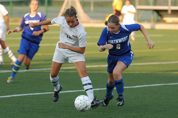 Mason Girls Varsity vs. Northwest 07-08