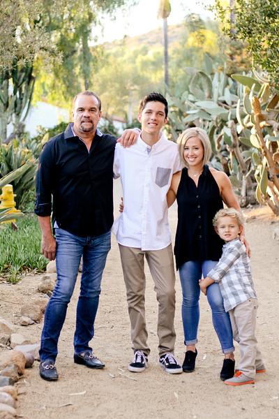 Hawkins Family at the Ranch