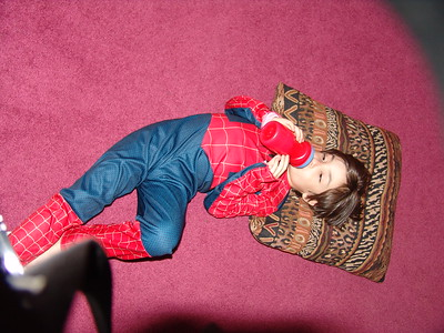 Tough Day for Spidey