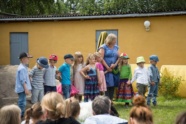 Sommerfest i børnehaven 2014