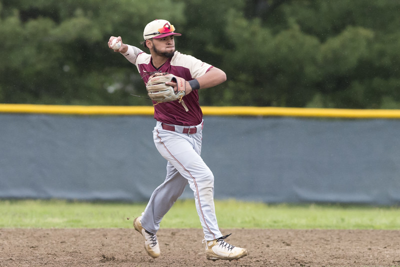 05/14/19  Wesley Bunnell   Staff  Newington baseball defeated New Britain 4-3 in a walk off on Tuesday afternoon at Newington High School. Danniel Rivera (1).