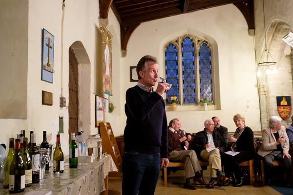 Wine Tasting at Spaldwick Church (May 2017)