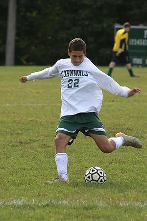 CCHS Boys Soccer vs Burke (10.3.11)