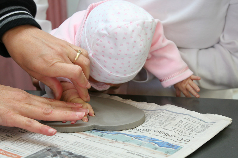 Creating Hand Prints