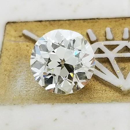 2.01ct Old European Cut Diamond- AGS N, VS1