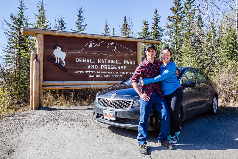 Lina and David Stock (America's Adventure Travel Couple) visiting all Alaska National Parks Divergent Travelers