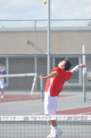 Boys Tennis vs AB 4-17-12