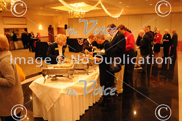 55th Annual Lincoln Day Dinner at Gaslight Manor in Aurora, IL 2-16-12