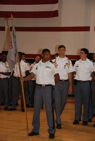HS Change of Command Ceremony