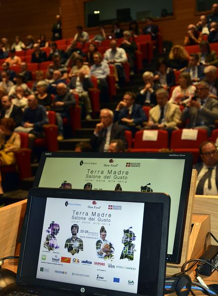 Presentazione programma Terra Madre Salone del Gusto 2016, 17 maggio Torino