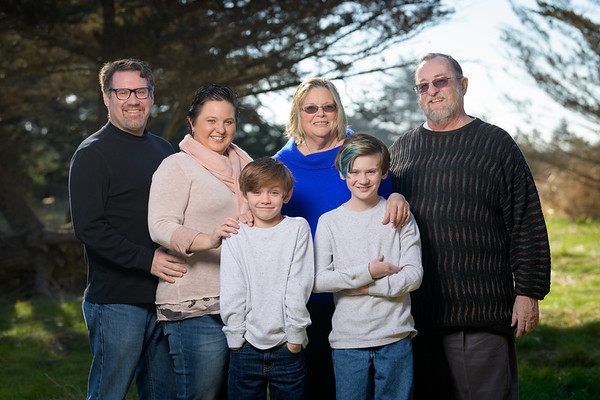 Beth H - Family Portraits at Lighthouse Field / Dog Beach
