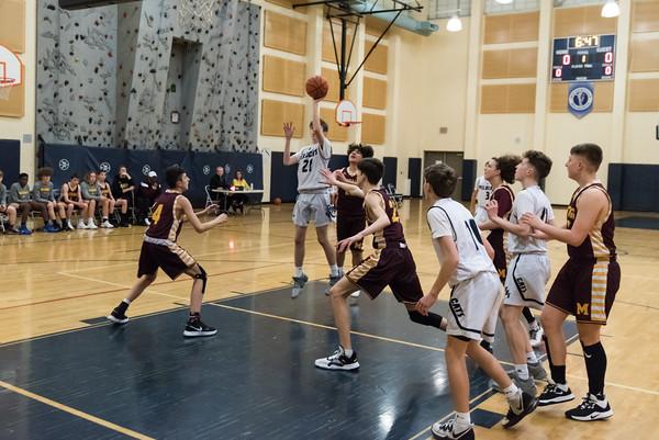 2020 Boys Freshman Basketball vs. Milwaukie