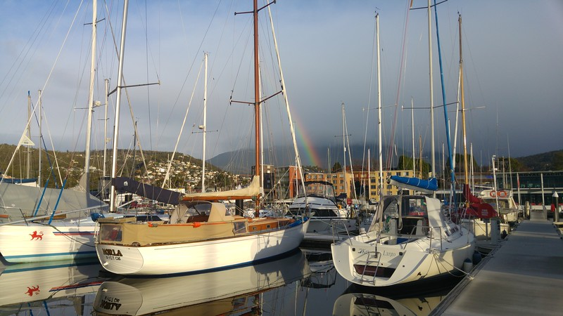 Norla and the rainbow - A very elegant wooden sloop