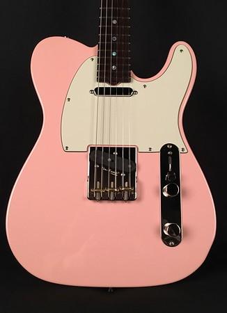 NOS Vintage T Reserve #3952, Shell Pink, Grosh T/T Pickups