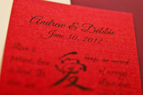 Andrew & Debbie's Wedding Reception