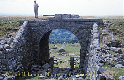 Great Western Railway - Princetown Branch Remains in the 1980s