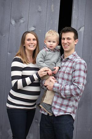Buschmann Family- Fall 2012