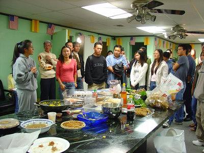Thanksgiving Dinner 2004