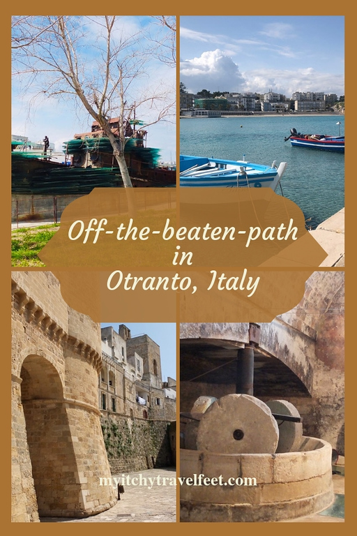 Off-the-beaten0-path in Otranto, Italy.