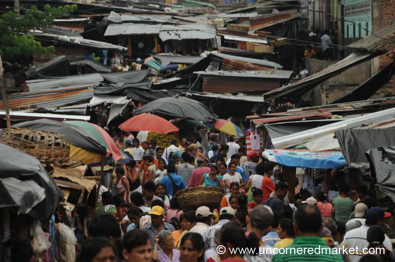 Ramshackle Market Scene - Granada, Nicaragua