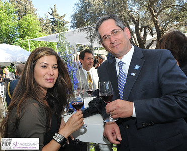 Yom Ha'atzmaut 2012- Diplomaitc Core Reception