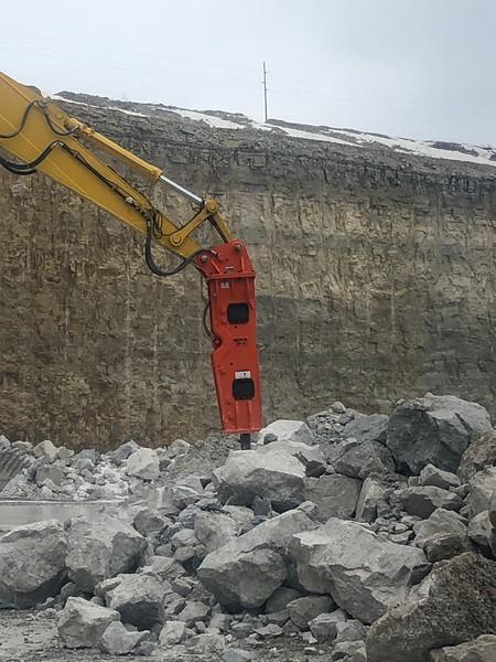 NPK GH15 hydraulic hammer on Komatsu PC490- National Lime, Carey, OH  1-19 (11).jpg